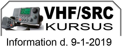 VHF/SRC Kursus